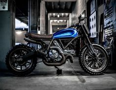 "Dive deep into the Blue! Folks, meet ""STKD Bastardo"", dope Scrambler Custom by our friends of @stkdsurfmoto! Thanks for sharing guys..love it!!! #scramblerducati #landofjoy #custommade #philippines #selfexpression #homemade #blue #summer"