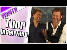 Interview mit Chris Hemsworth und Tom Hiddleston - YouTube
