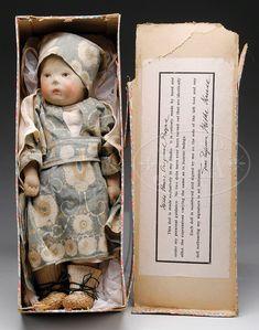 Top Zustand Dolls & Bears Logical Käthe Kruse Puppe 27 Cm