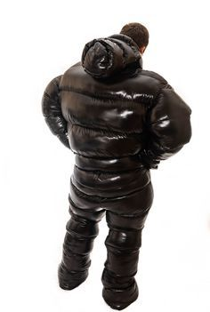 Glanznylon oversized and overfilled puffy suit Cool Jackets, Winter Jackets, Ski Suit Mens, Boss Man, Bad Boss, Bad Boy Style, Down Suit, Down Sleeping Bag, Tactical Wear