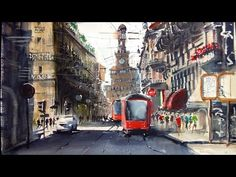 You'll see how to Paint buildings without the need to draw by using transfer from a photo - YouTube