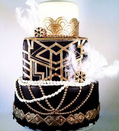 JeVenis Roaring Fondant Mold Gatsby Themed Cake Decoration Art Deco Cupcake Cake Topper Chocolate Candy Soap Cake Baking for Gatsby Themed Party Wedding - Cake Decorating Square Ideen Great Gatsby Party, Great Gatsby Motto, Gatsby Themed Party, Deco Cupcake, Cupcake Cakes, Pastel Art Deco, O Grande Gatsby, Art Deco Cake, Art Deco Party