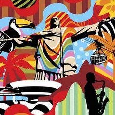 RIO DE JANEIRO | LOBO | POP ART www.lobopopart.com.br