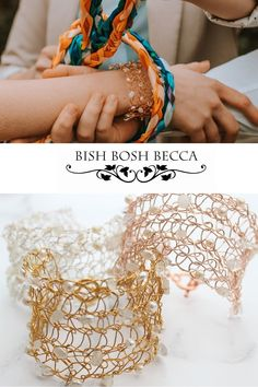 Delicate handmade crochet wedding cuff bracelet in gold, silver or rose gold with white pearls and moonstone gemstones Handmade Wedding Jewellery, Wedding Jewelry, Or Rose, Rose Gold, Alternative Bride, Crochet Wedding, Woodland Wedding, Wedding Shoot, Pearl White