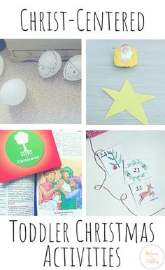 The Christmas season is such an exciting season for toddlers. Here's some exciting things we've enjoyed doing together as a family with toddlers to celebrate advent and the birth of Jesus. Christmas Activities For Toddlers, Christmas Crafts For Kids, Toddler Activities, Christmas Jesus, Toddler Christmas, Christmas 2019, Birth Celebration, Birth Of Jesus, Bible Activities