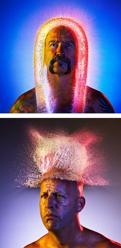 Water Wigs: Photo Series by Tim Tadder | Inspiration Grid | Design Inspiration