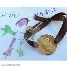 Dibujos de los peques en forma de joyas personalizadas ;)