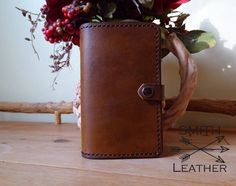 Rustic Field Notes Cover by SmithLeatherCo on Etsy