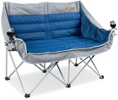 OZtrail Galaxy 2 Seater Chair - Camp Furniture - Camping and Tramping - Gear - Bivouac Online Store Camping Glamping, Camping Chairs, Camping Life, Outdoor Camping, Camping Furniture, Office Furniture, Walmart Camping, Camping Table, Beach Camping