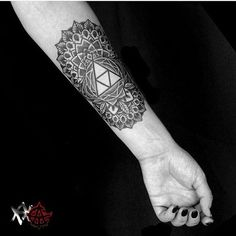 Triforce  My newest ink <3  Big thanks to @ariakkerman!!! You're awesome…