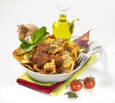 Raviolis à la sauce tomate