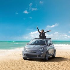 Rise and shine! #Friday calls for a ride with a taste of freedom! :) #Fiat500