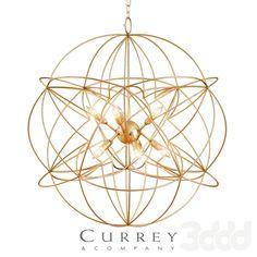 Zenda Orb Chandelier by Currey&Company