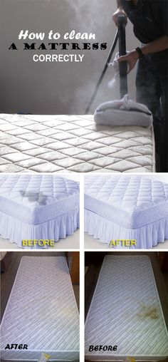 How to clean a mattress correctly