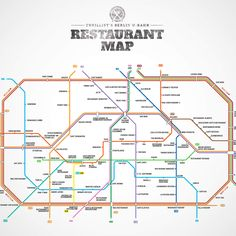 Berlin U-Bahn Restaurant Map. A great restaurant recommendation at every station.