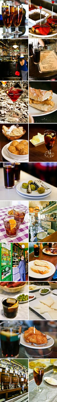 4 distinct routes for a self-led vermouth and tapas tours through some of our favorite neighborhoods in Madrid! Tapas, Madrid Restaurants, Madrid Travel, Spanish Cuisine, Best Places To Eat, Food Festival, Spain Travel, Street Food, Great Recipes