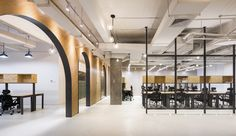 11architecture designed a new location of coworking company SimplyWork, located in Shenzhen, China. The site for this project was selected at the top floor and the penthouse of an existing…