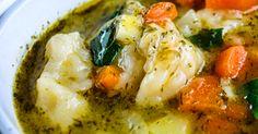 how to make vegan vegetable and dumpling soup recipe