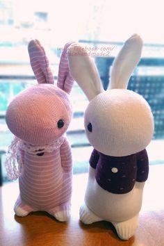 Grace--#338+#339 sock Domy Rabbit