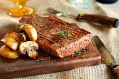 beef steak by xin li on 500px