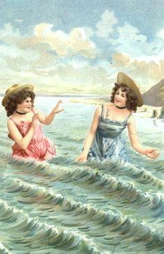 vintage seaside