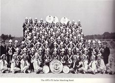1971-1972 Sailor Marching Band
