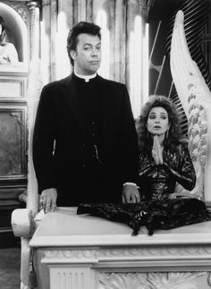 PASS THE AMMO, Tim Curry, Annie Potts, 1988 | Essential Film Stars, Tim Curry http://gay-themed-films.com/essential-film-stars-tim-curry/