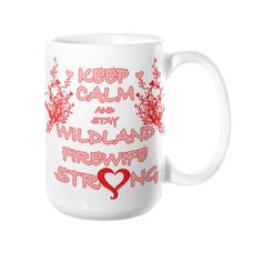 This premium mug is made of a durable white ceramic. It is dishwasher and microwave safe. Made in USA.