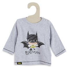 Tee-shirt 'Batman' gris Bébé garçon - Kiabi