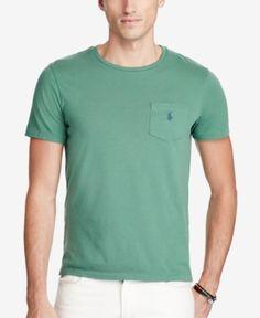 Polo Ralph Lauren Men's Jersey Pocket T-Shirt - Dusted Ivy XXL
