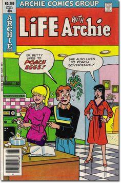 Life With Archie 205, Archie Comic Publications https://www.pinterest.com/citygirlpideas/archie-comics/