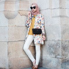 Image result for pakaian kerja wanita berhijab casual Street Hijab Fashion baa796d962