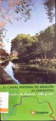 EL CANAL IMPERIAL DE ARAGÓN EN ZARAGOZA: CORREDOR DE HISTORIA, VIDA Y OCIO. Mérida, Mariano. Divide los 41 KM de su paso por Zaragoza en 7 tramos. Quiere ser también un homenaje a los miles de artesanos, campesinos, soldados y presidiarios que, liderados por Ramón de Pignatelli y otros ilustrados, hicieron posible esta joya ambiental. Disponible en @ http://roble.unizar.es/record=b1638587~S4*spi