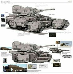 Futuristic Armour, Futuristic Art, Army Vehicles, Armored Vehicles, Spaceship Concept, Concept Cars, 3d Mode, Future Weapons, Sci Fi Ships
