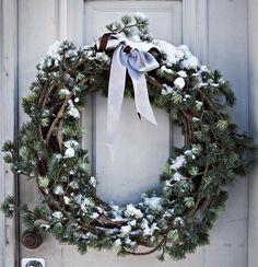 Ovikranssi jouluksi
