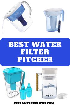 Find out best water filter pitcher for kitchen dining