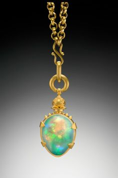 Lilly Fitzgerald opal pendant