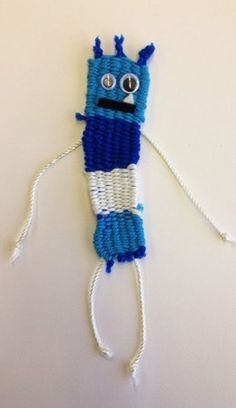 Fourth Grade Monochromatic Monster Weaving