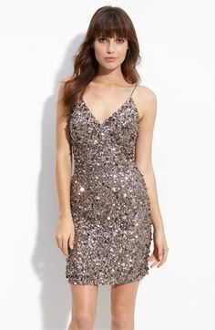 Adrianna Papell Sequin Sheath Dress available at Nordstrom