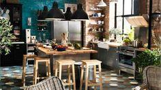 """Ispirazione cucina: Un tocco """"Bistrot"""" in cucina! 20 idee da vedere…"""