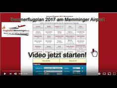 Flughafen Memmingen Sommerflugplan 2017 Allgäu Airport