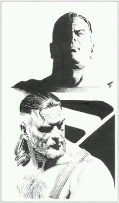 Kingdom Come Superman by Alex Ross