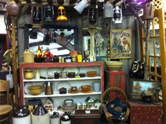 Wasatch Fall Booth at Treasures Antique Mall Springville Utah