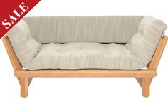 Oak Twingle Futon Daybed... love love love it... went all out with the optional extras :D xxx