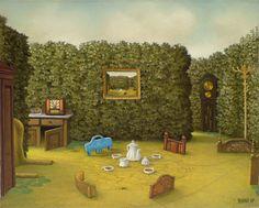 """Jacek Yerka - """"Swamp tea"""" 2007"""