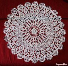 awe inspiring Crochet Doily Diagram, Crochet Doilies, Crochet Lace, Doily Patterns, Knit Patterns, Mantel Redondo, Needle Tatting Patterns, Crochet Tablecloth, Crochet Round