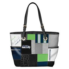 For The Love Of The Game NFL Seattle Seahawks Tote Bag