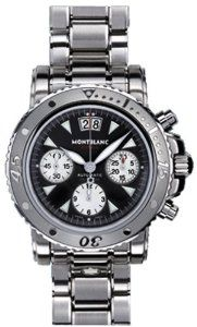 NEW MONTBLANC SPORT FLYBACK AUTOMATIC CHRONOGRAPH MENS WATCH 8466