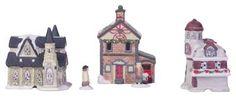 How+to+Make+a+Lake+Christmas+Village+Display+