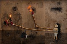 Art by David Lynch - sublime.